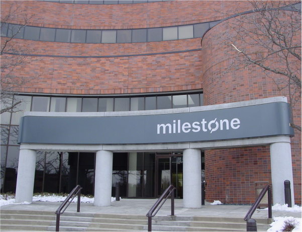 milesone sign