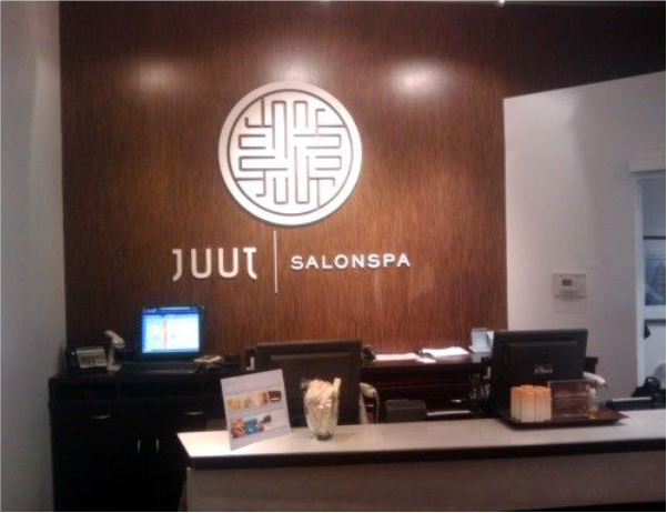 juut salonspa sign